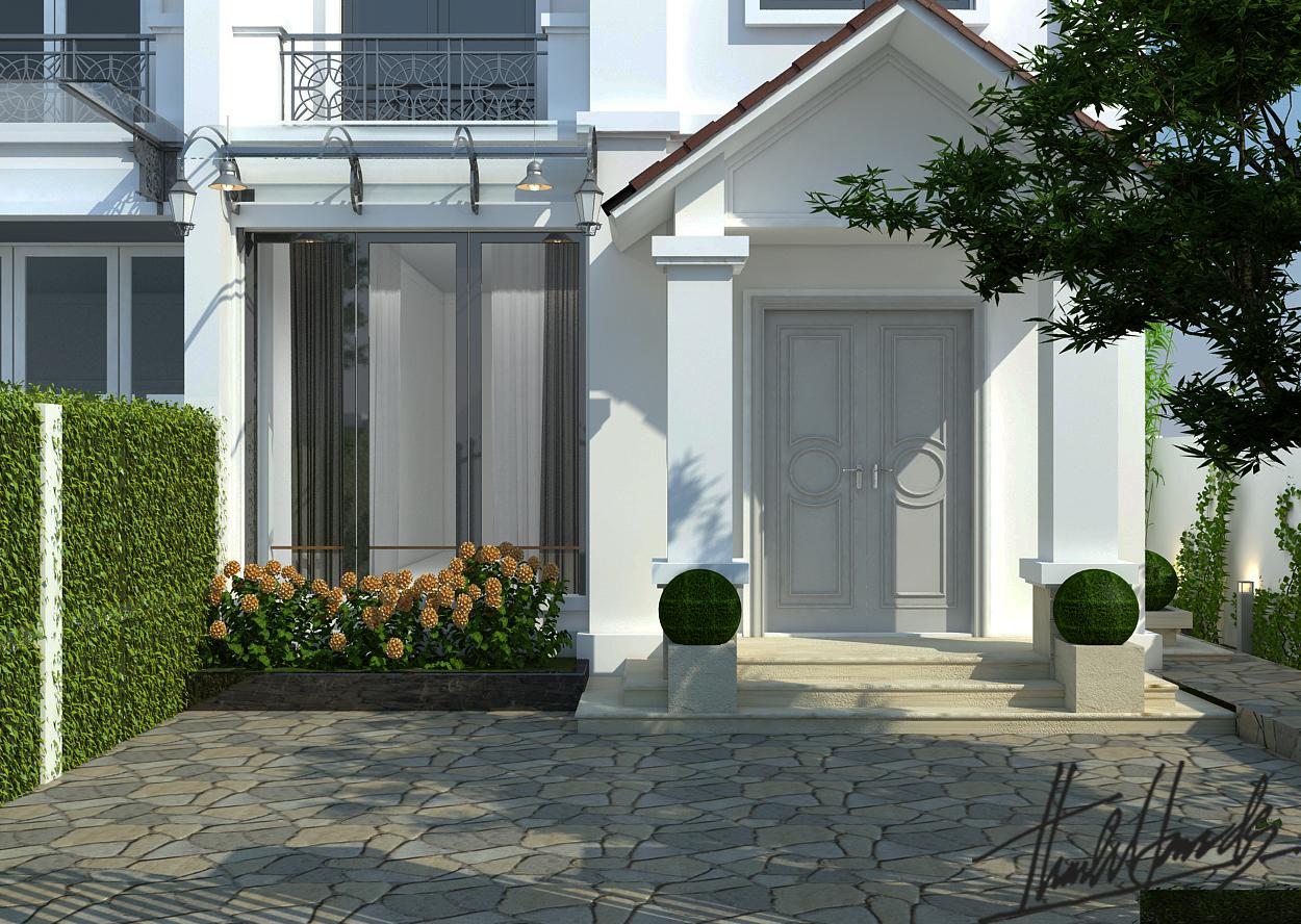 thiết kế nội thất Biệt Thự tại Hà Nội bt Vinhomes - riverside 2 1568274525
