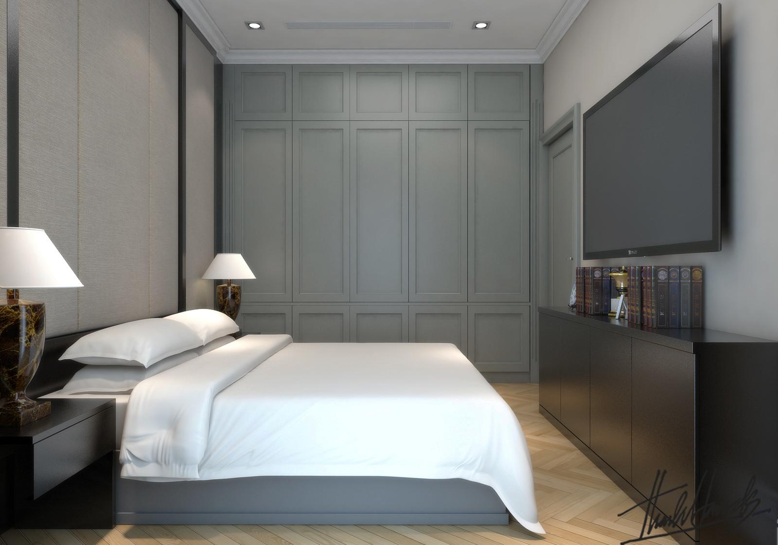 thiết kế nội thất Biệt Thự tại Hà Nội bt Vinhomes - riverside 23 1568274535