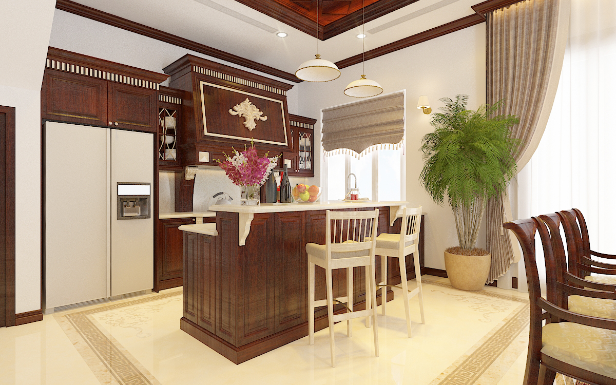 thiết kế nội thất Biệt Thự tại Hà Nội bt Vinhomes - riverside 23 1568276268