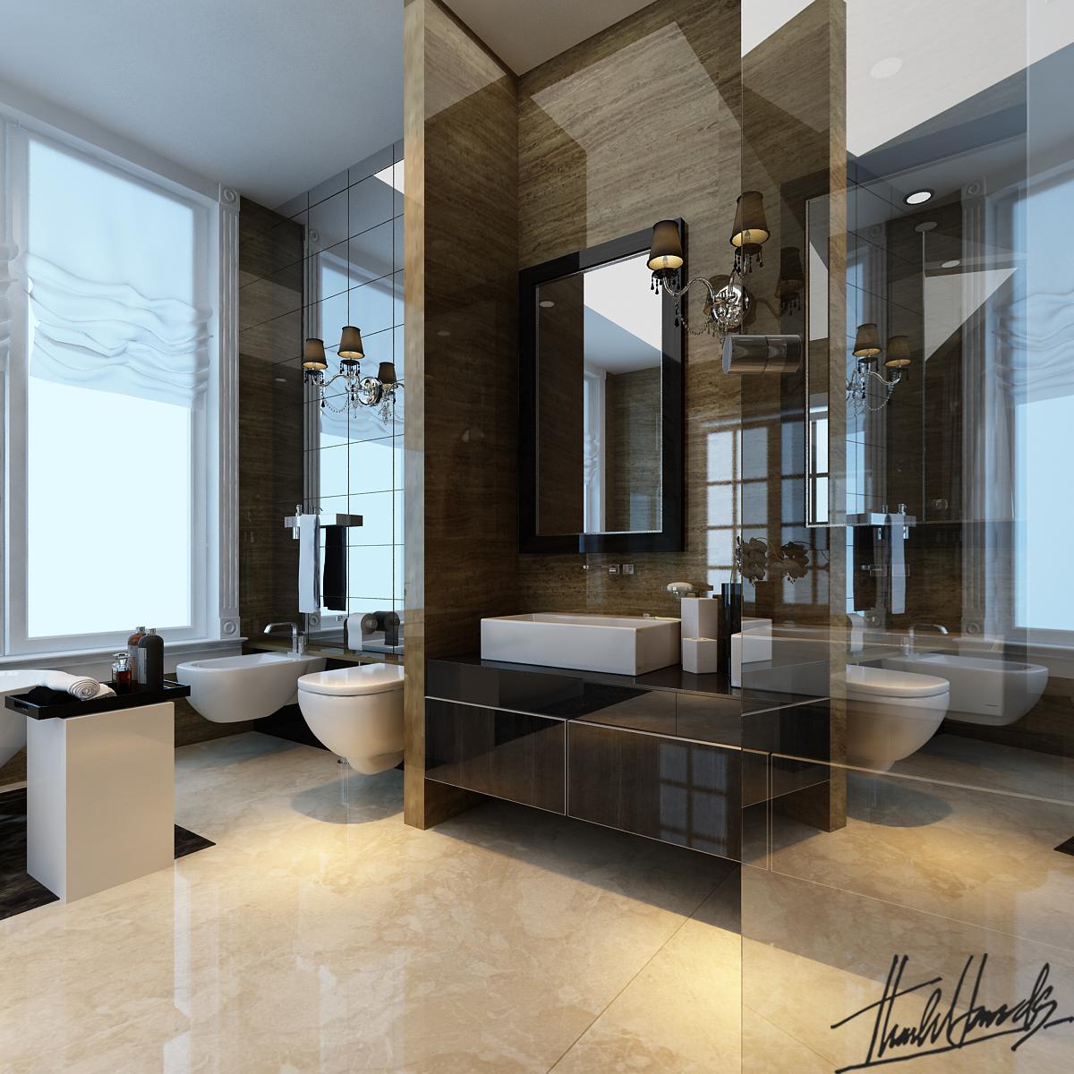 thiết kế nội thất Biệt Thự tại Hà Nội Biệt thự - Việt Hưng  24 1568273826