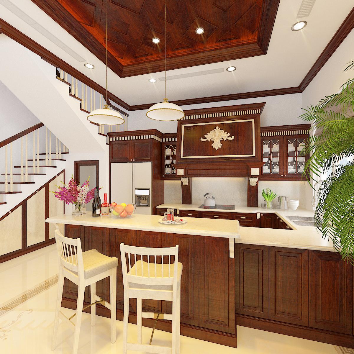 thiết kế nội thất Biệt Thự tại Hà Nội bt Vinhomes - riverside 24 1568276270
