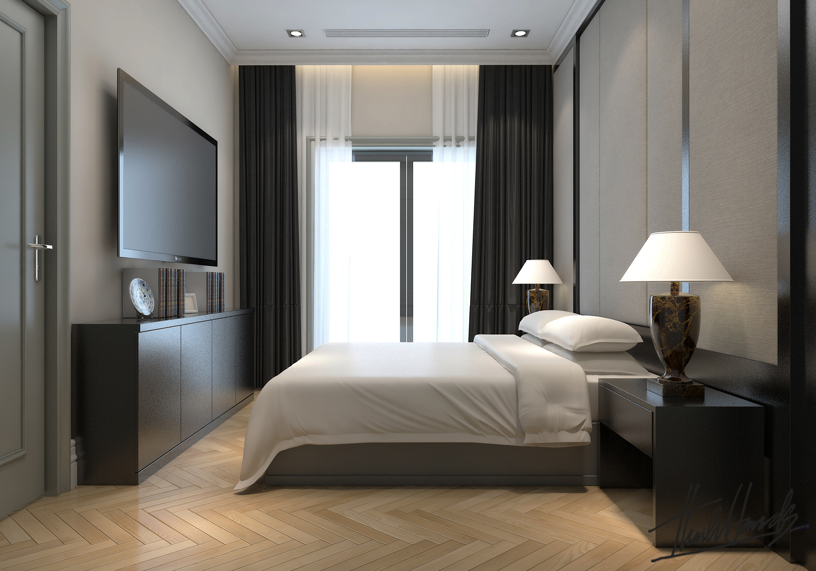 thiết kế nội thất Biệt Thự tại Hà Nội bt Vinhomes - riverside 25 1568274534