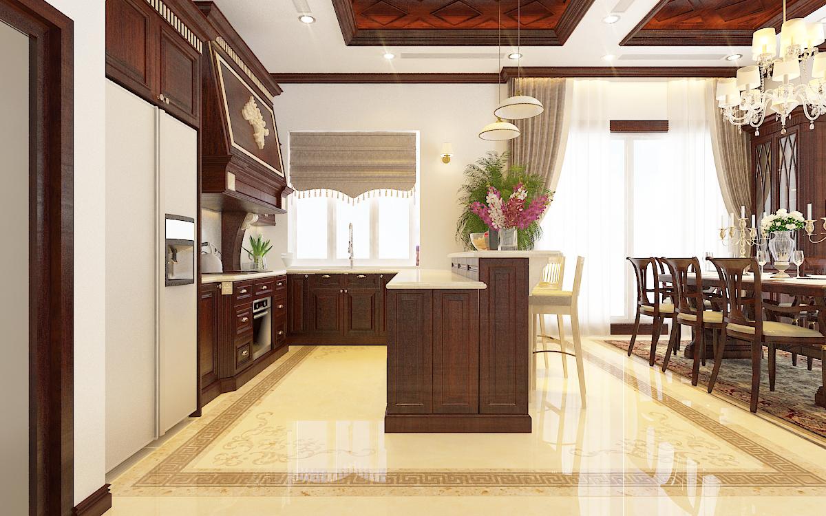 thiết kế nội thất Biệt Thự tại Hà Nội bt Vinhomes - riverside 25 1568276270