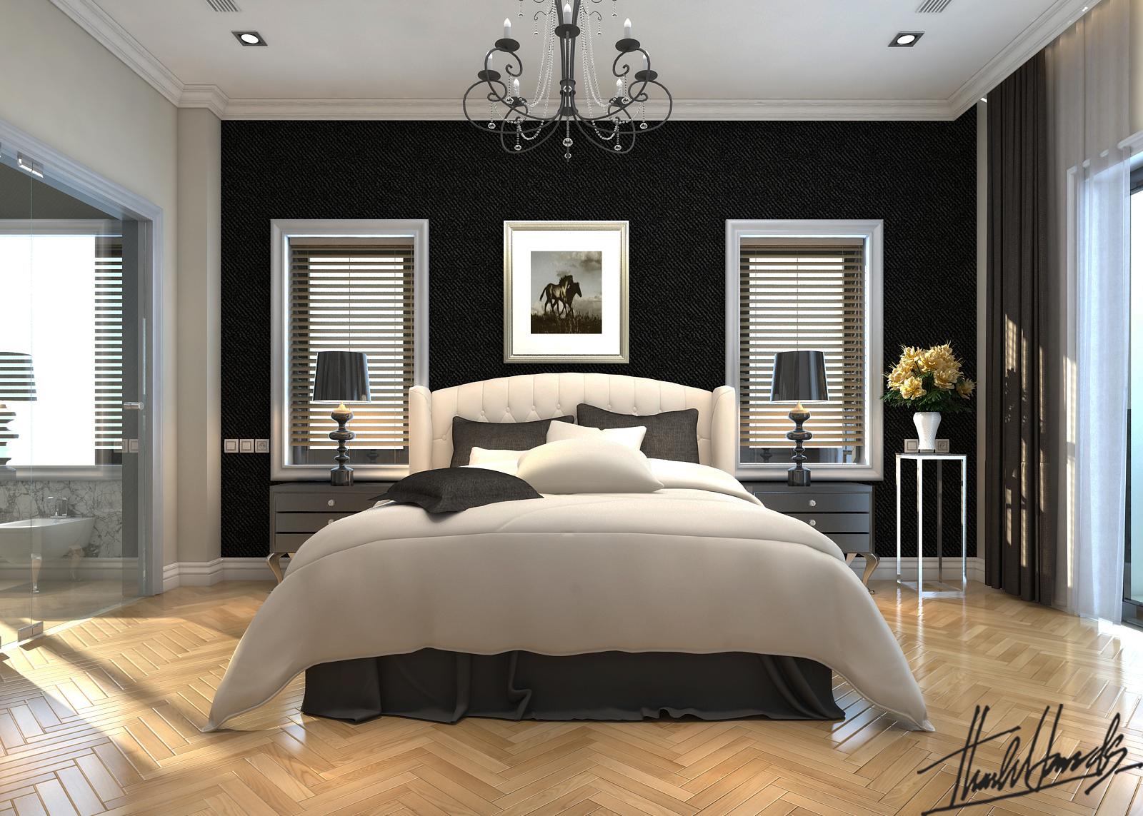 thiết kế nội thất Biệt Thự tại Hà Nội bt Vinhomes - riverside 26 1568274536