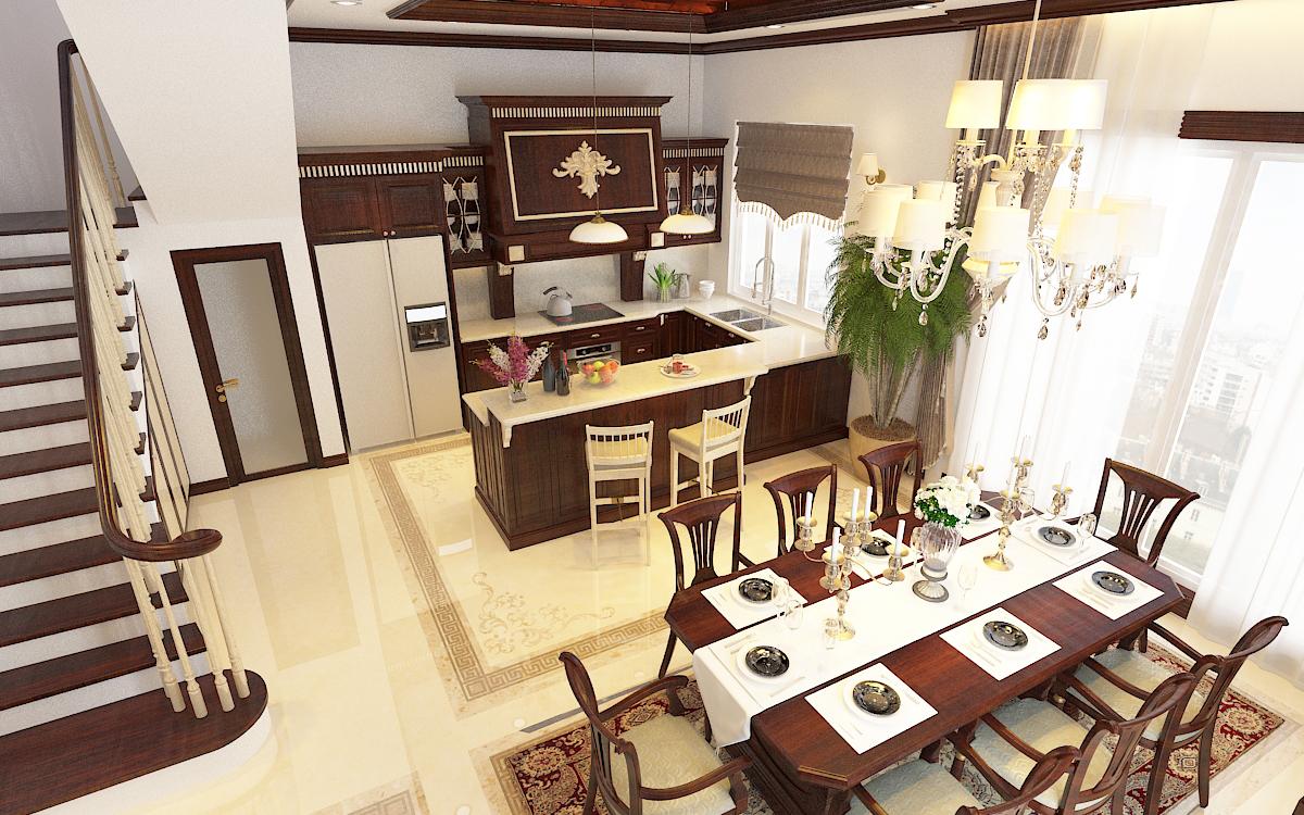 thiết kế nội thất Biệt Thự tại Hà Nội bt Vinhomes - riverside 26 1568276270