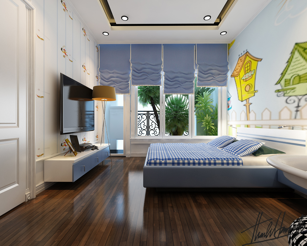 thiết kế nội thất Biệt Thự tại Hà Nội Biệt thự - Việt Hưng  27 1568273828