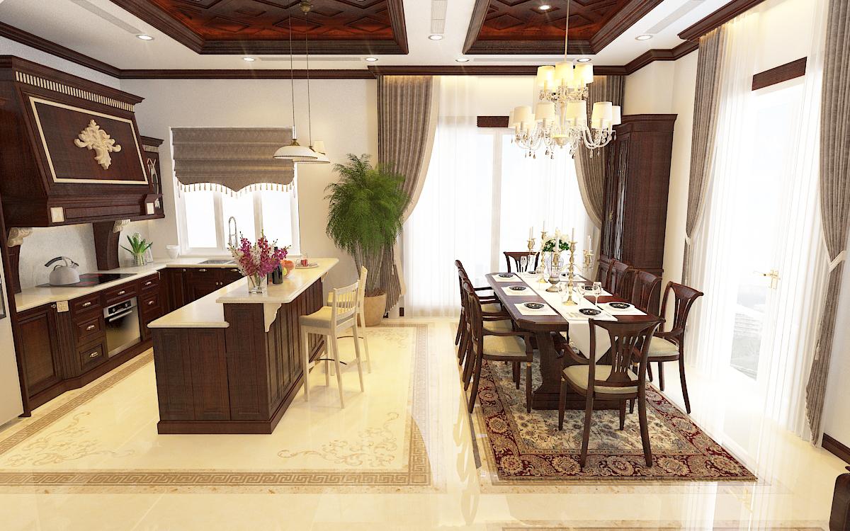 thiết kế nội thất Biệt Thự tại Hà Nội bt Vinhomes - riverside 28 1568276271