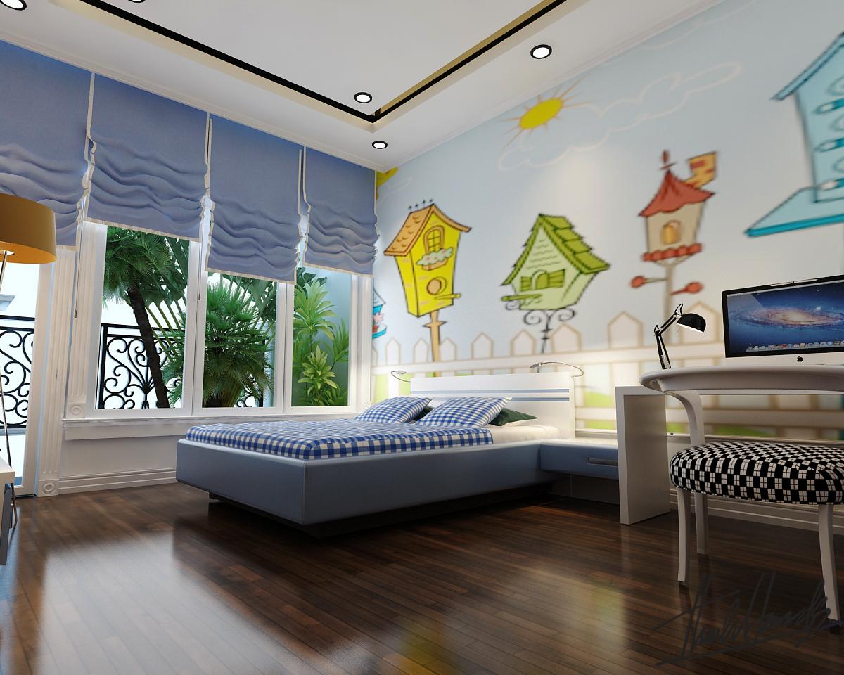 thiết kế nội thất Biệt Thự tại Hà Nội Biệt thự - Việt Hưng  29 1568273829