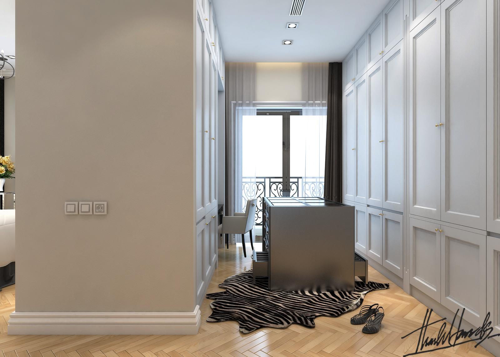 thiết kế nội thất Biệt Thự tại Hà Nội bt Vinhomes - riverside 29 1568274537