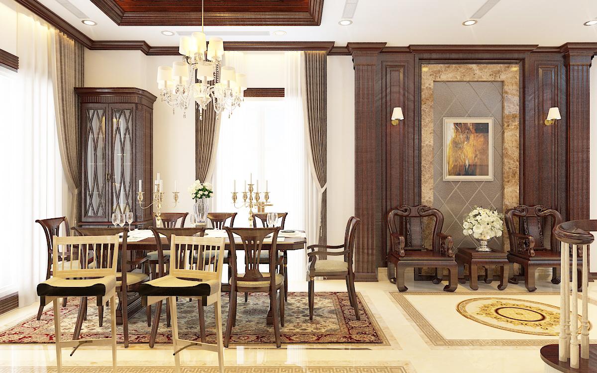 thiết kế nội thất Biệt Thự tại Hà Nội bt Vinhomes - riverside 29 1568276272