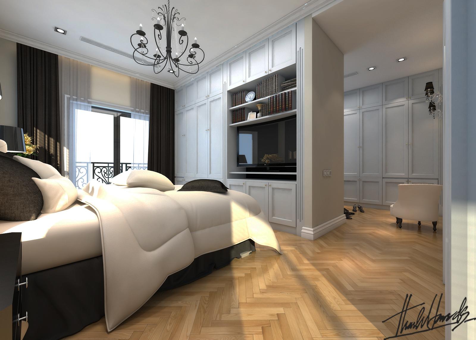 thiết kế nội thất Biệt Thự tại Hà Nội bt Vinhomes - riverside 31 1568274537