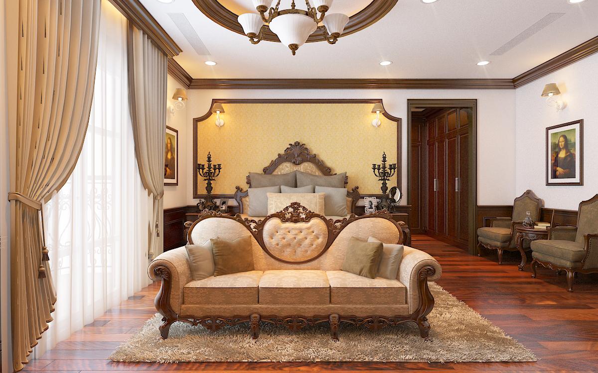 thiết kế nội thất Biệt Thự tại Hà Nội bt Vinhomes - riverside 31 1568276273