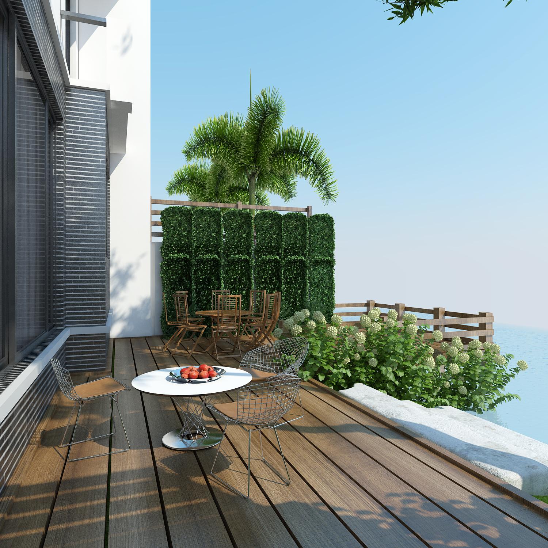 thiết kế nội thất Biệt Thự tại Hà Nội bt Vinhomes - riverside 3 1568085322
