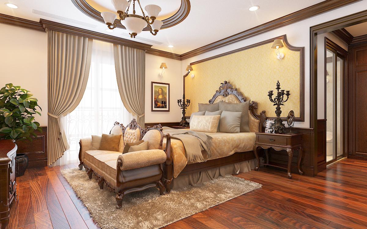 thiết kế nội thất Biệt Thự tại Hà Nội bt Vinhomes - riverside 32 1568276273