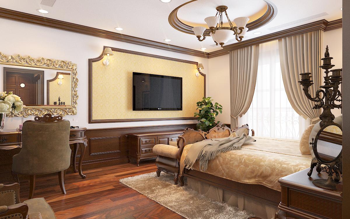 thiết kế nội thất Biệt Thự tại Hà Nội bt Vinhomes - riverside 33 1568276273