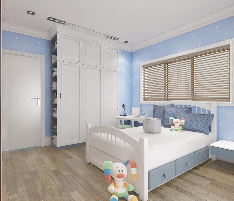 thiết kế nội thất Biệt Thự tại Hà Nội bt Vinhomes - riverside 34 1568085362