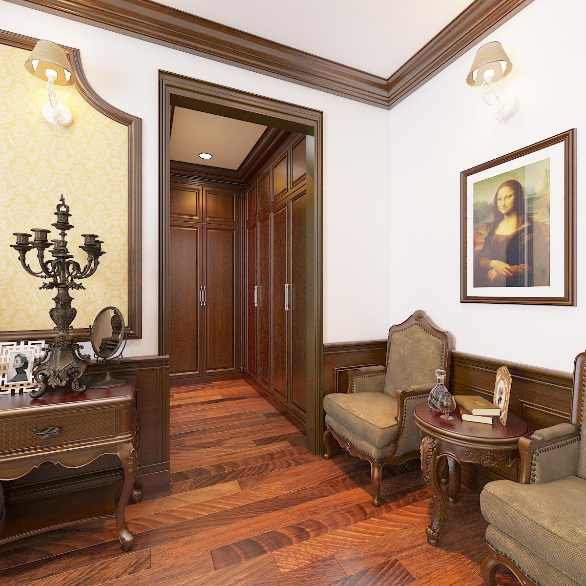 thiết kế nội thất Biệt Thự tại Hà Nội bt Vinhomes - riverside 35 1568276275