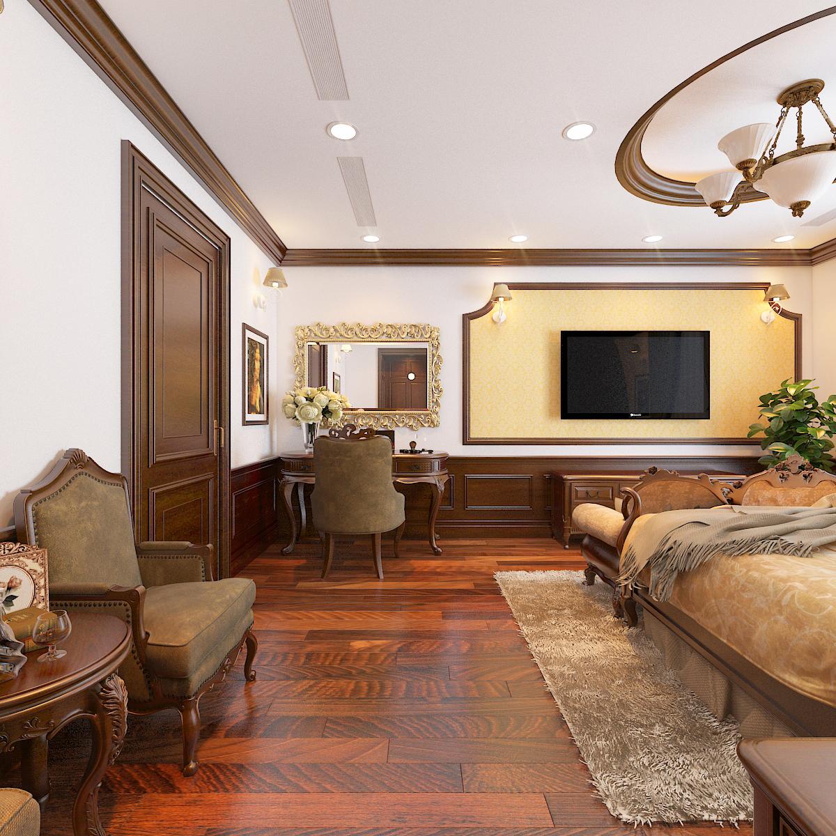 thiết kế nội thất Biệt Thự tại Hà Nội bt Vinhomes - riverside 36 1568276275