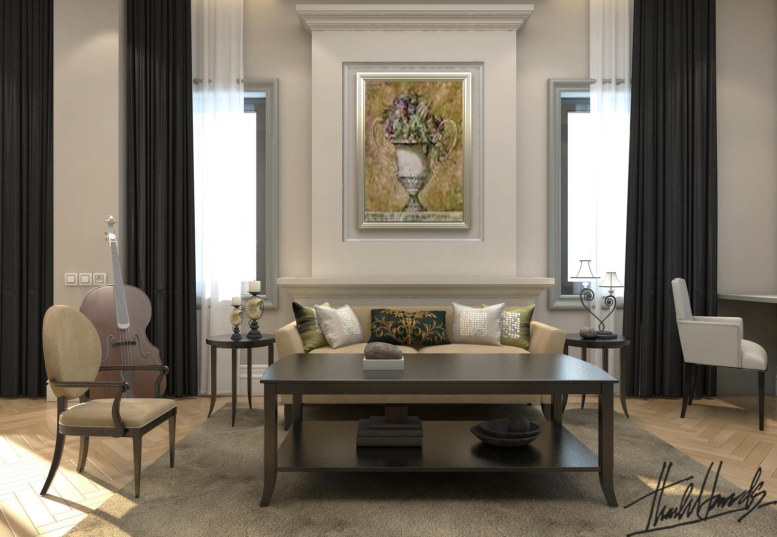 thiết kế nội thất Biệt Thự tại Hà Nội bt Vinhomes - riverside 38 1568274542