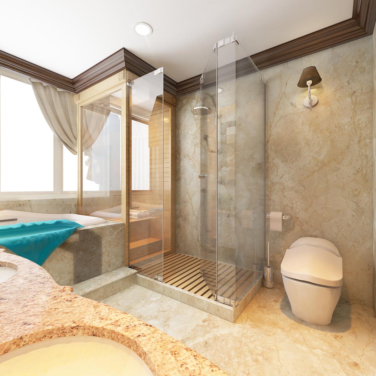thiết kế nội thất Biệt Thự tại Hà Nội bt Vinhomes - riverside 38 1568276276