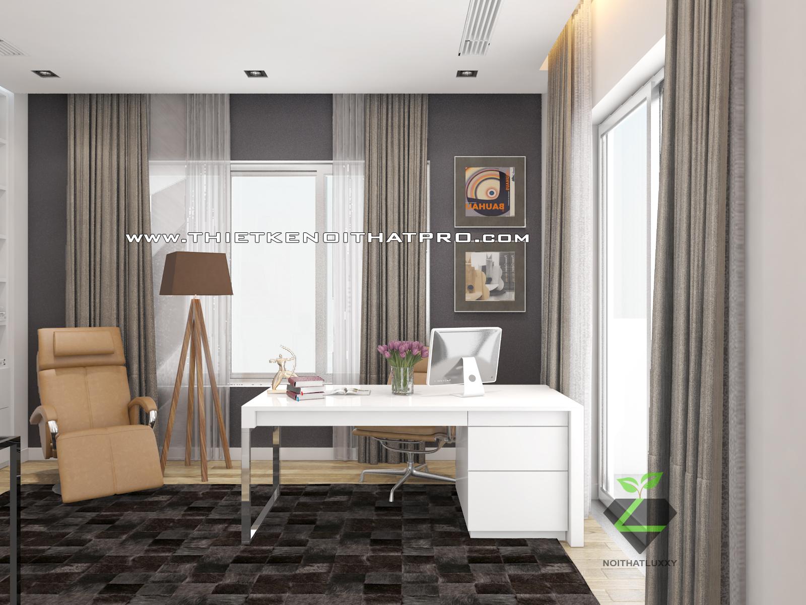 thiết kế nội thất Biệt Thự tại Hà Nội bt Vinhomes - riverside 39 1568085367