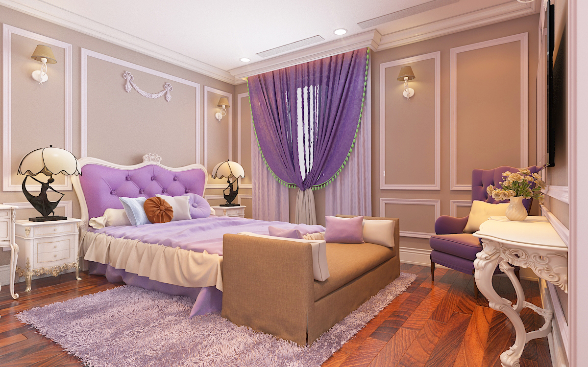 thiết kế nội thất Biệt Thự tại Hà Nội bt Vinhomes - riverside 39 1568276289