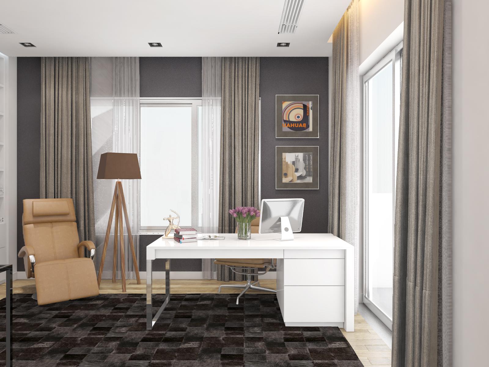 thiết kế nội thất Biệt Thự tại Hà Nội bt Vinhomes - riverside 40 1568085368