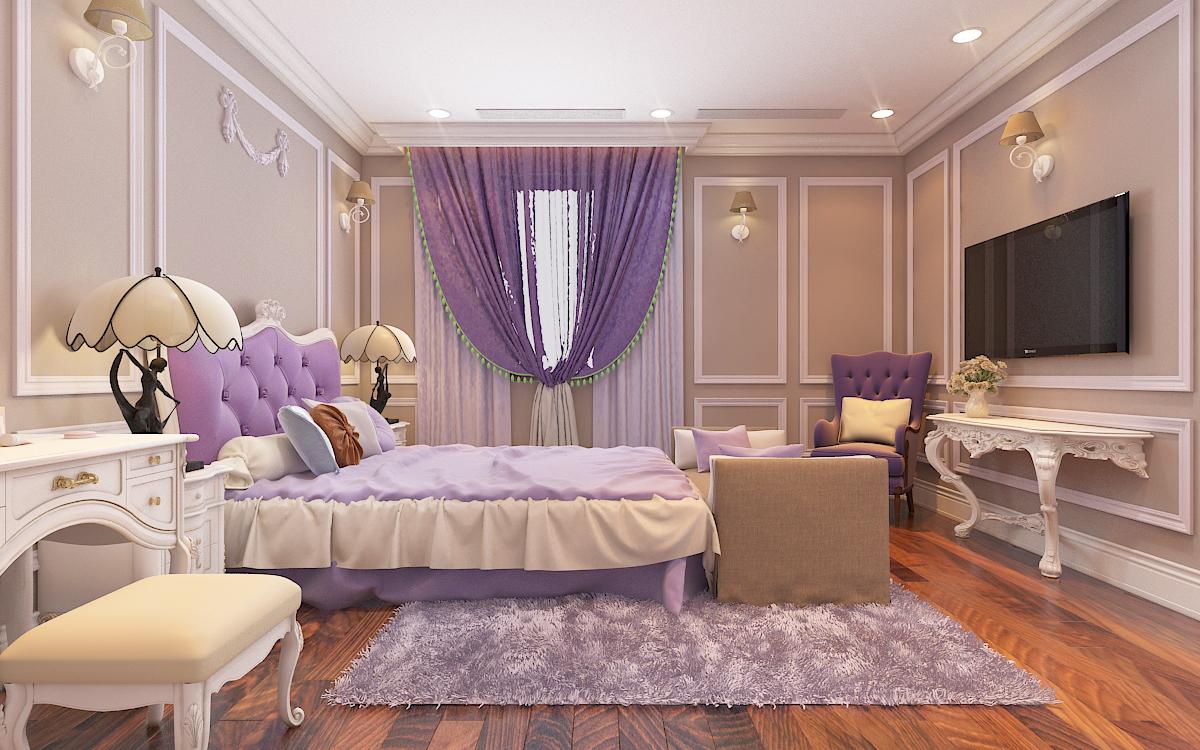 thiết kế nội thất Biệt Thự tại Hà Nội bt Vinhomes - riverside 40 1568276277