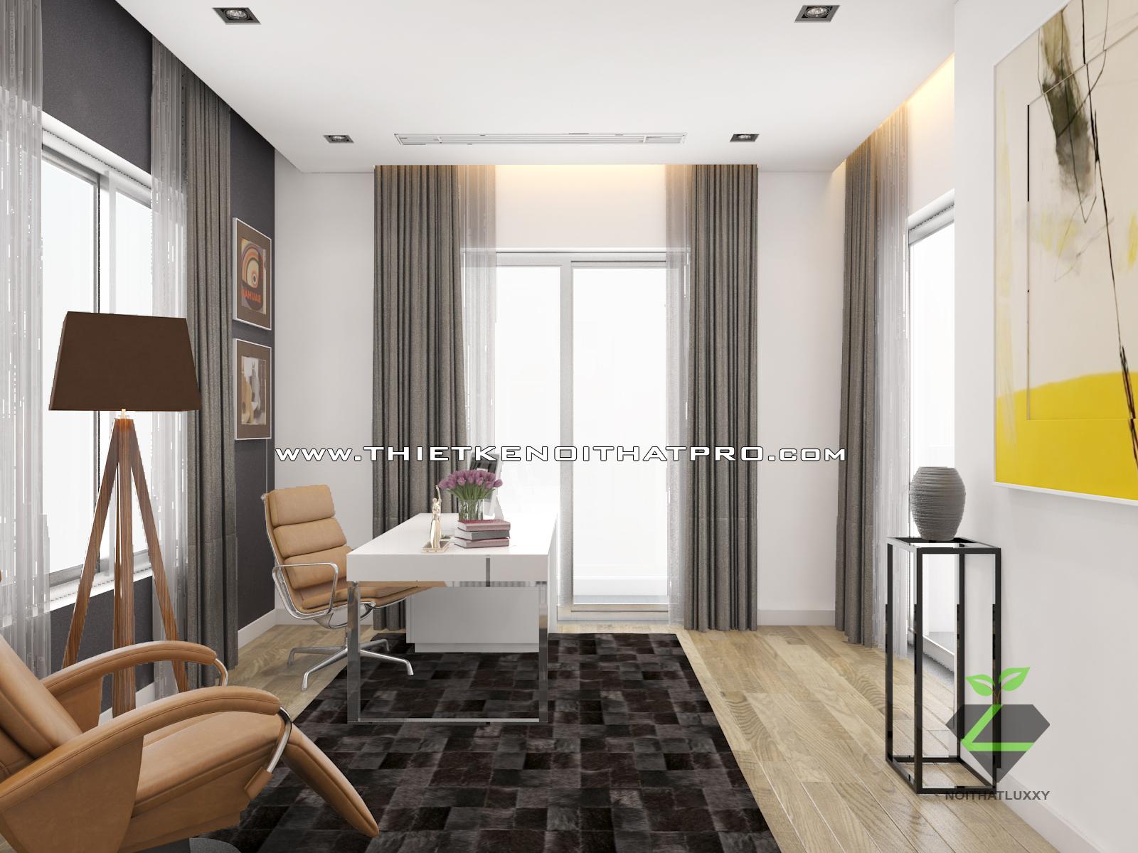 thiết kế nội thất Biệt Thự tại Hà Nội bt Vinhomes - riverside 41 1568085368