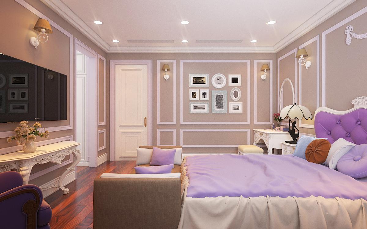 thiết kế nội thất Biệt Thự tại Hà Nội bt Vinhomes - riverside 41 1568276277