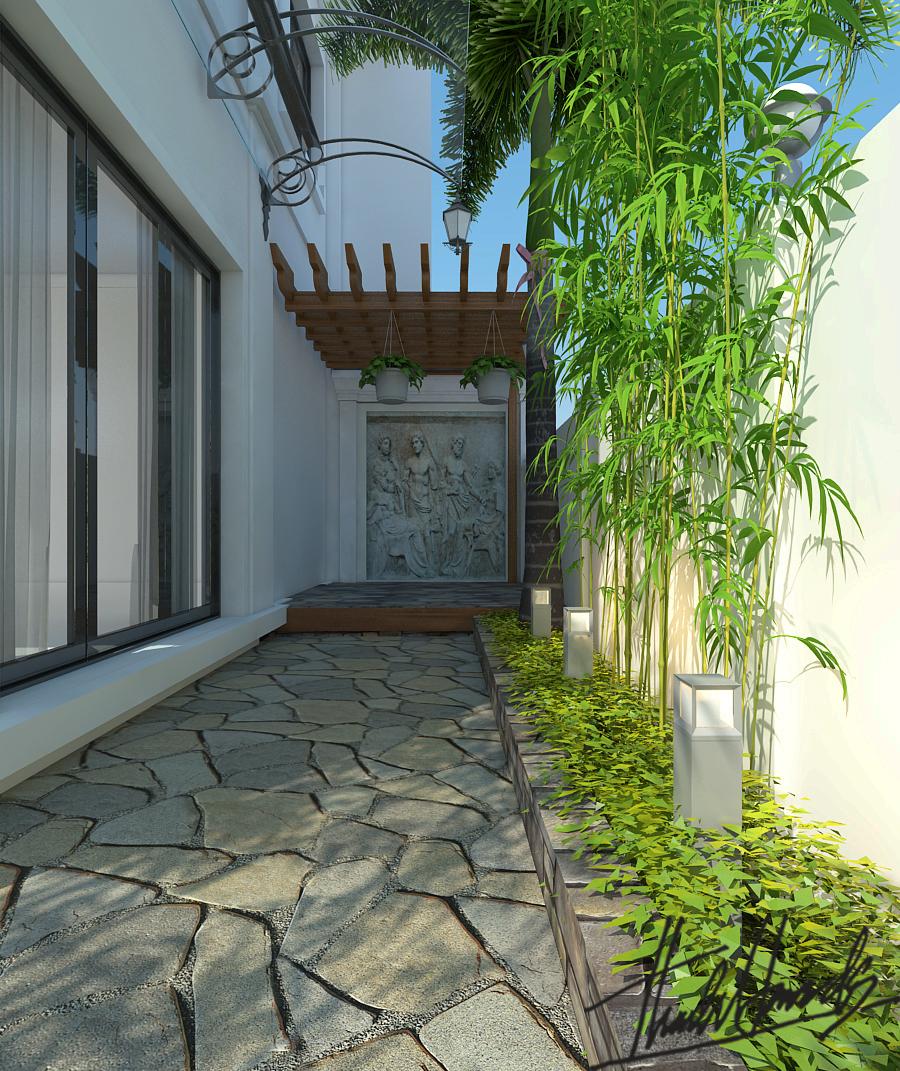 thiết kế nội thất Biệt Thự tại Hà Nội bt Vinhomes - riverside 4 1568274525