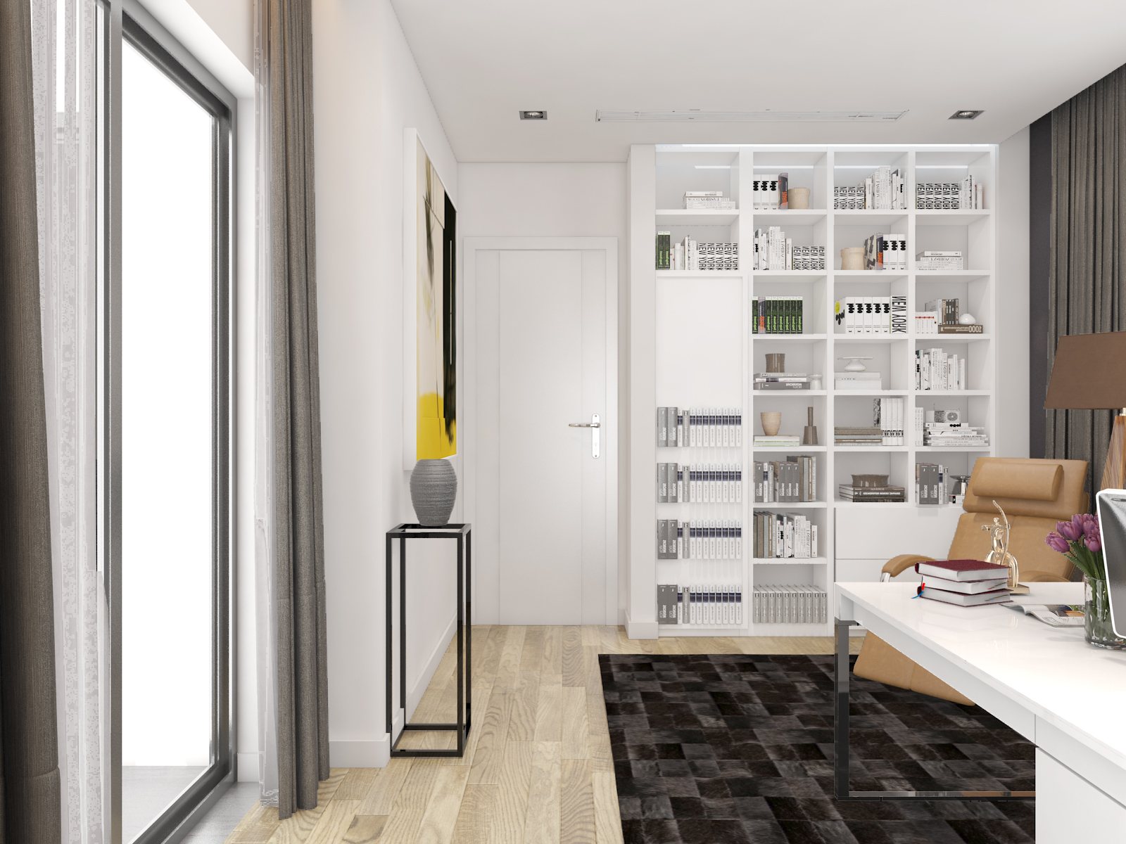 thiết kế nội thất Biệt Thự tại Hà Nội bt Vinhomes - riverside 43 1568085370