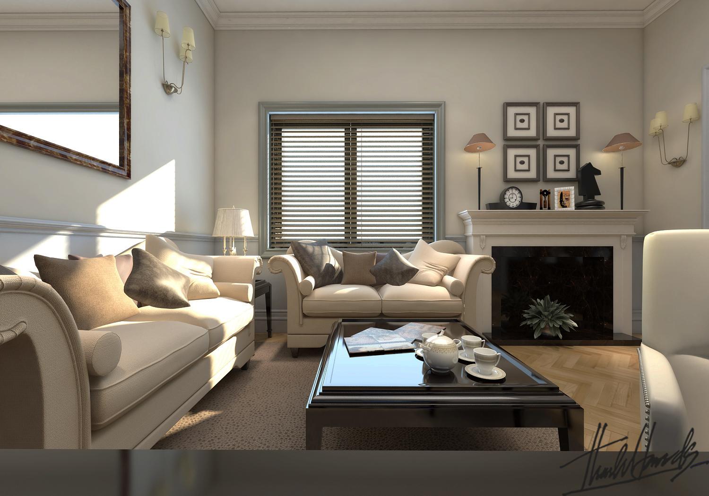 thiết kế nội thất Biệt Thự tại Hà Nội bt Vinhomes - riverside 43 1568274544