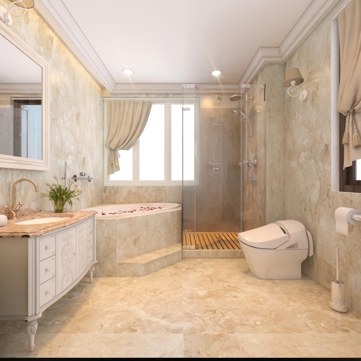thiết kế nội thất Biệt Thự tại Hà Nội bt Vinhomes - riverside 43 1568276278