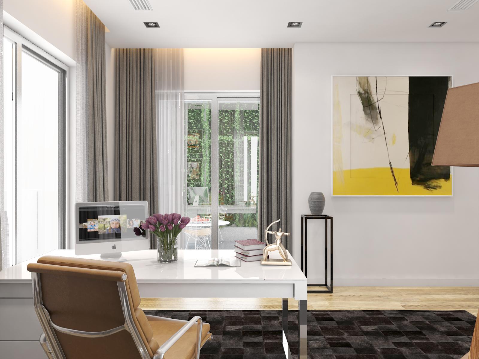 thiết kế nội thất Biệt Thự tại Hà Nội bt Vinhomes - riverside 44 1568085371