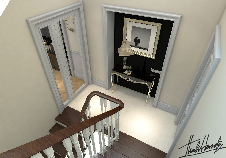 thiết kế nội thất Biệt Thự tại Hà Nội bt Vinhomes - riverside 44 1568274544