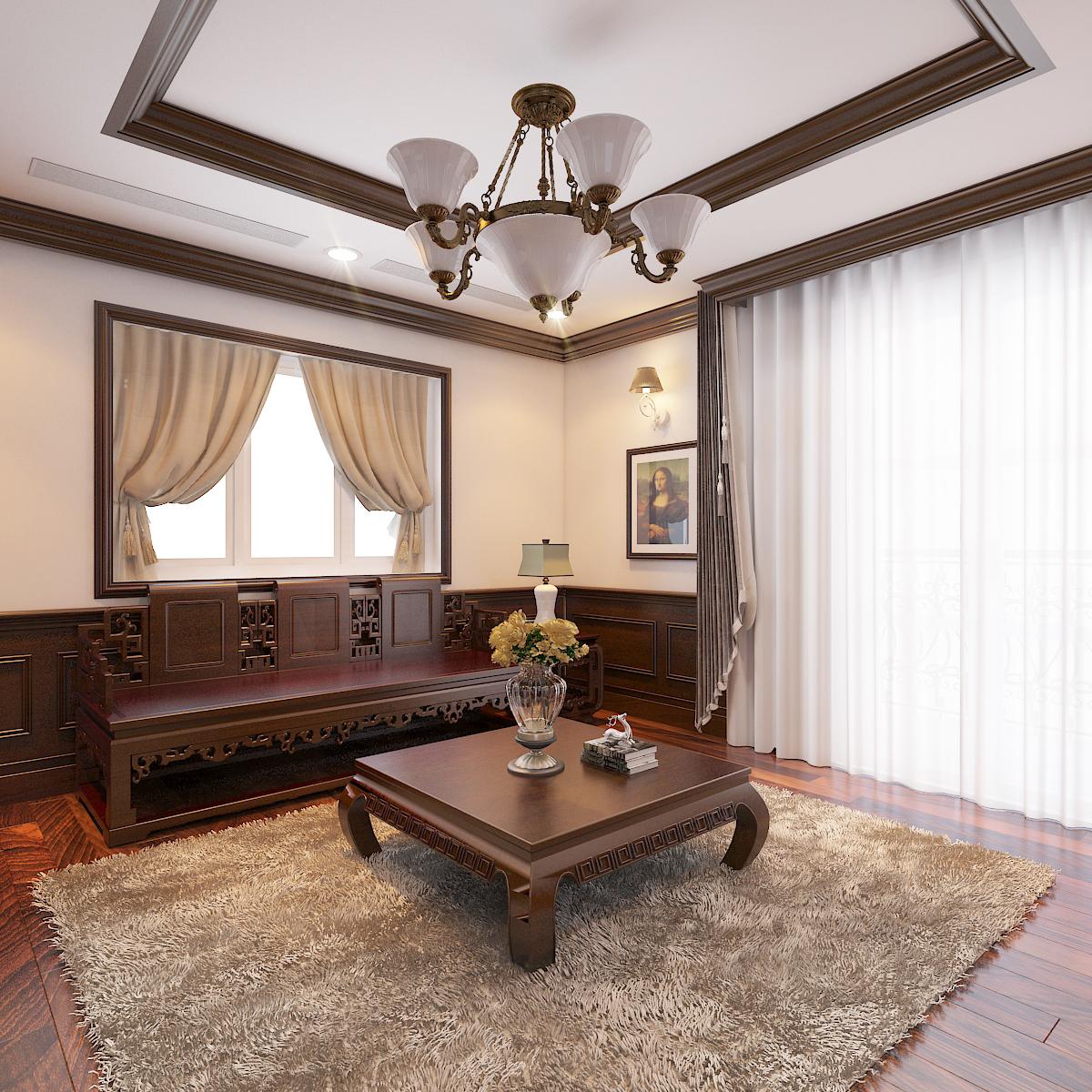 thiết kế nội thất Biệt Thự tại Hà Nội bt Vinhomes - riverside 44 1568276279