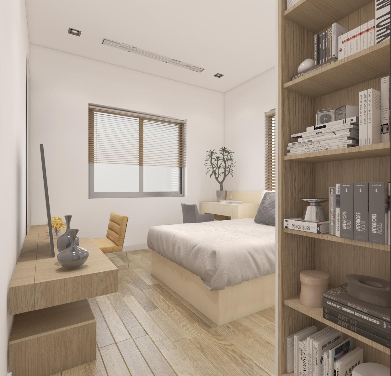 thiết kế nội thất Biệt Thự tại Hà Nội bt Vinhomes - riverside 45 1568085370