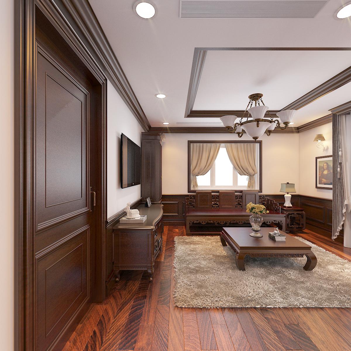 thiết kế nội thất Biệt Thự tại Hà Nội bt Vinhomes - riverside 45 1568276280