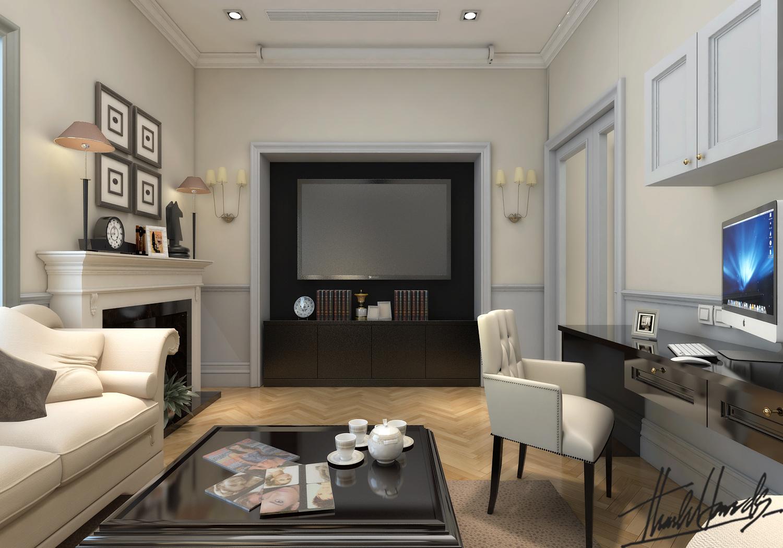 thiết kế nội thất Biệt Thự tại Hà Nội bt Vinhomes - riverside 46 1568274545