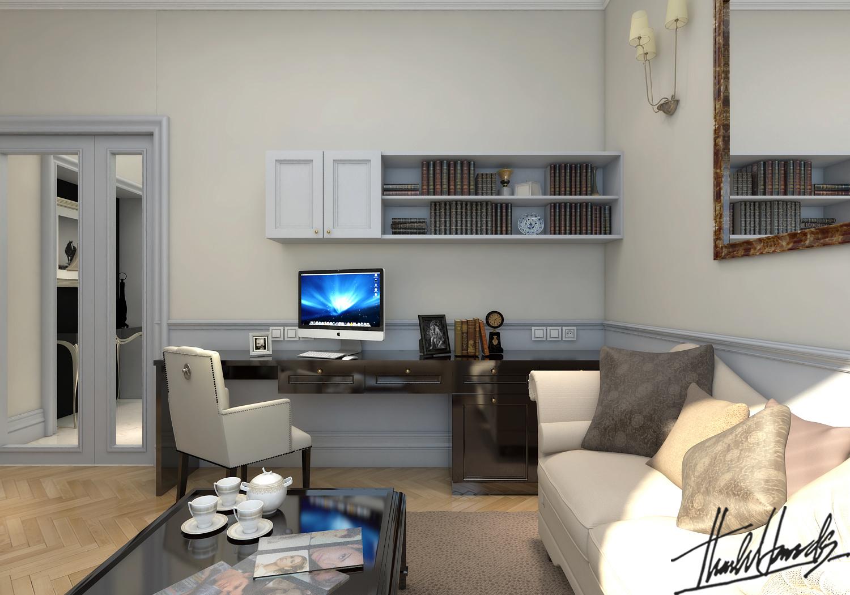 thiết kế nội thất Biệt Thự tại Hà Nội bt Vinhomes - riverside 47 1568274545