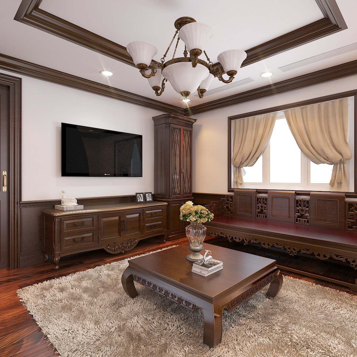 thiết kế nội thất Biệt Thự tại Hà Nội bt Vinhomes - riverside 47 1568276281