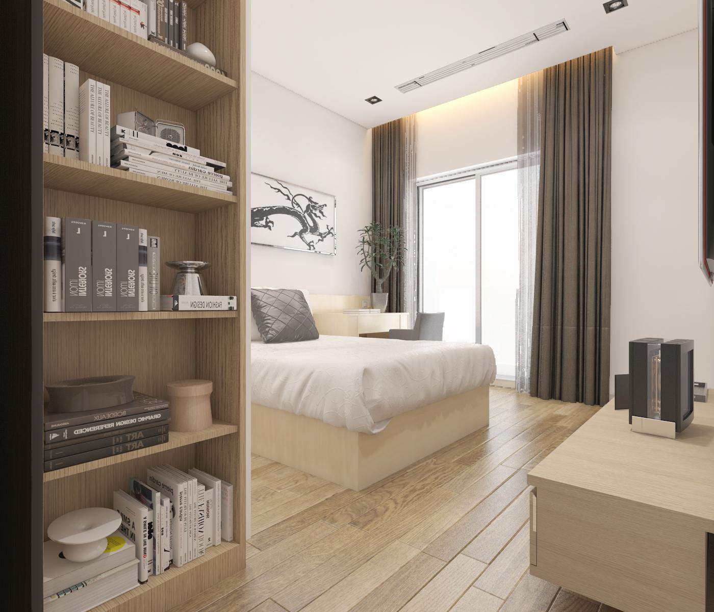 thiết kế nội thất Biệt Thự tại Hà Nội bt Vinhomes - riverside 48 1568085374
