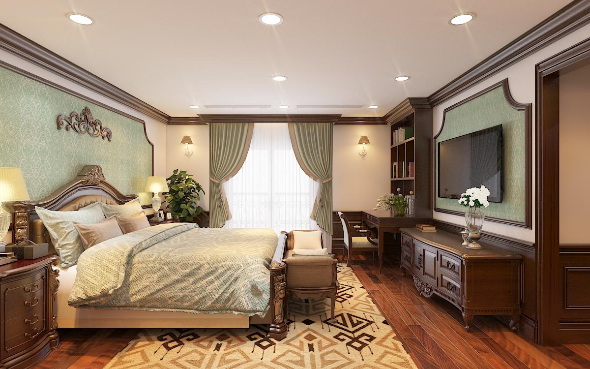 thiết kế nội thất Biệt Thự tại Hà Nội bt Vinhomes - riverside 48 1568276281