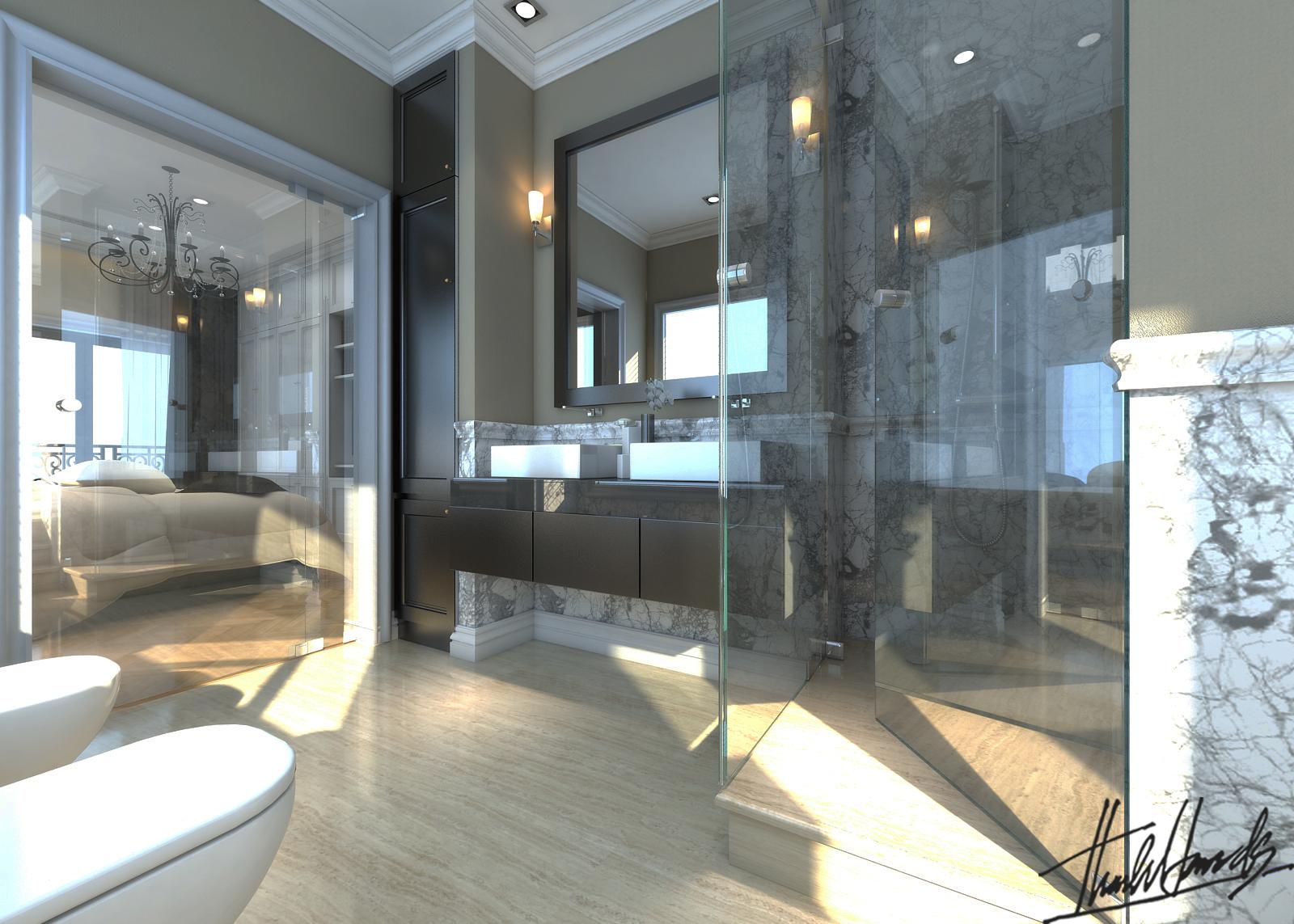 thiết kế nội thất Biệt Thự tại Hà Nội bt Vinhomes - riverside 50 1568274547