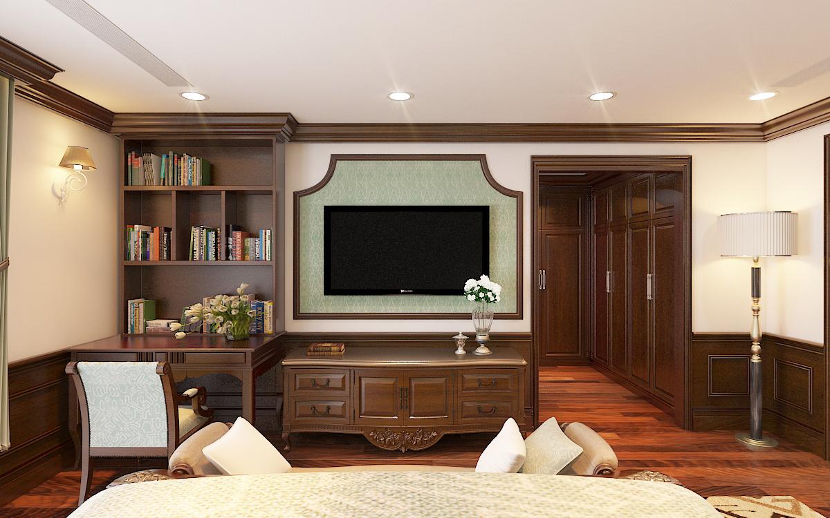 thiết kế nội thất Biệt Thự tại Hà Nội bt Vinhomes - riverside 50 1568276282