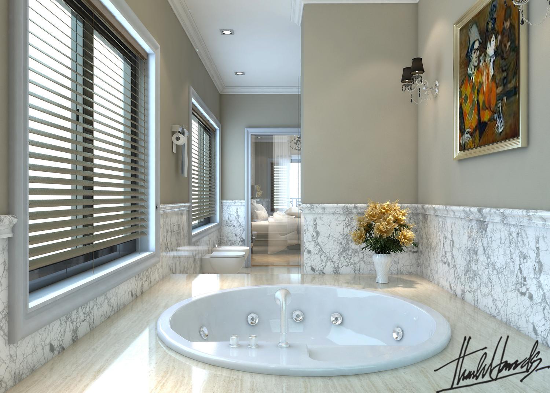 thiết kế nội thất Biệt Thự tại Hà Nội bt Vinhomes - riverside 51 1568274547