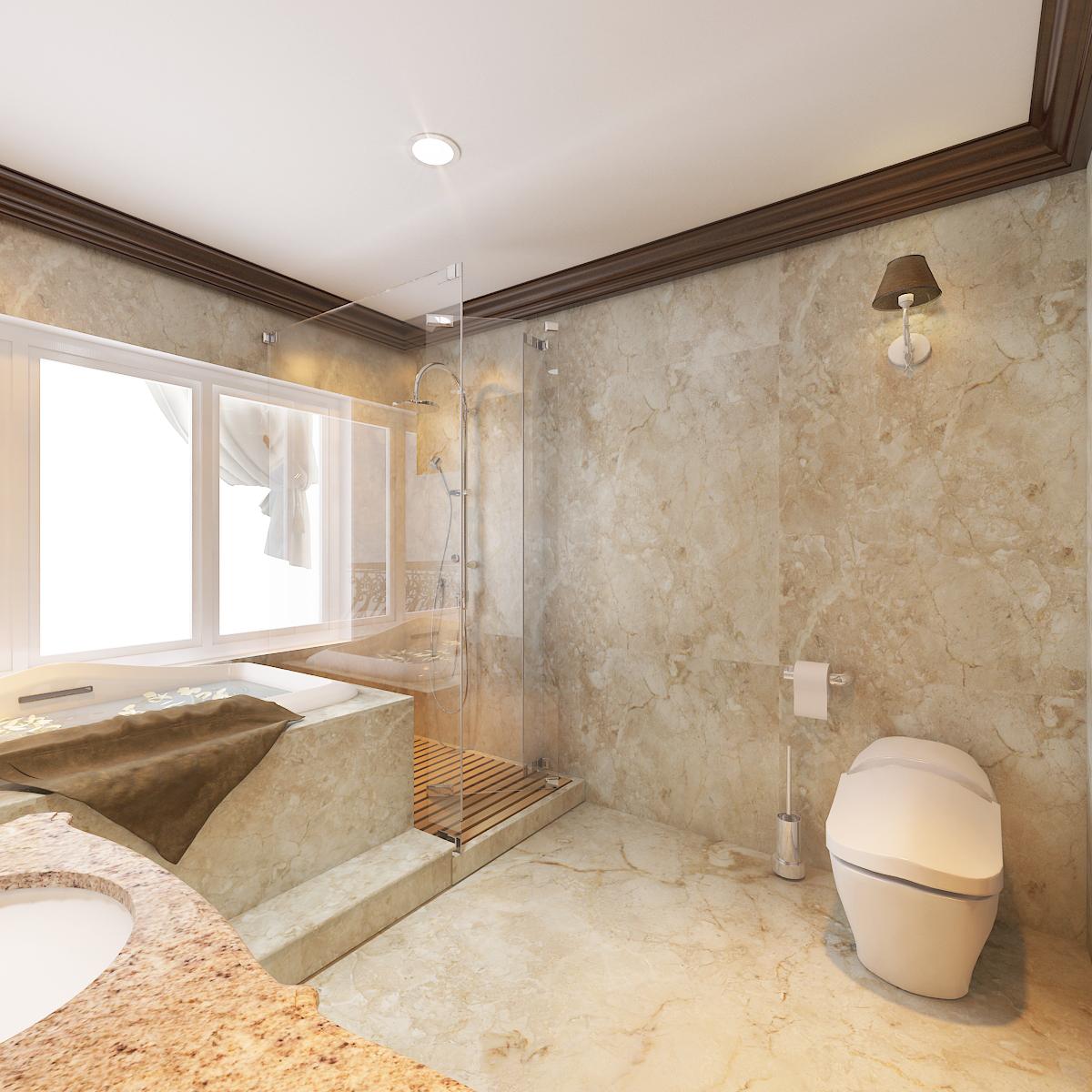 thiết kế nội thất Biệt Thự tại Hà Nội bt Vinhomes - riverside 51 1568276283