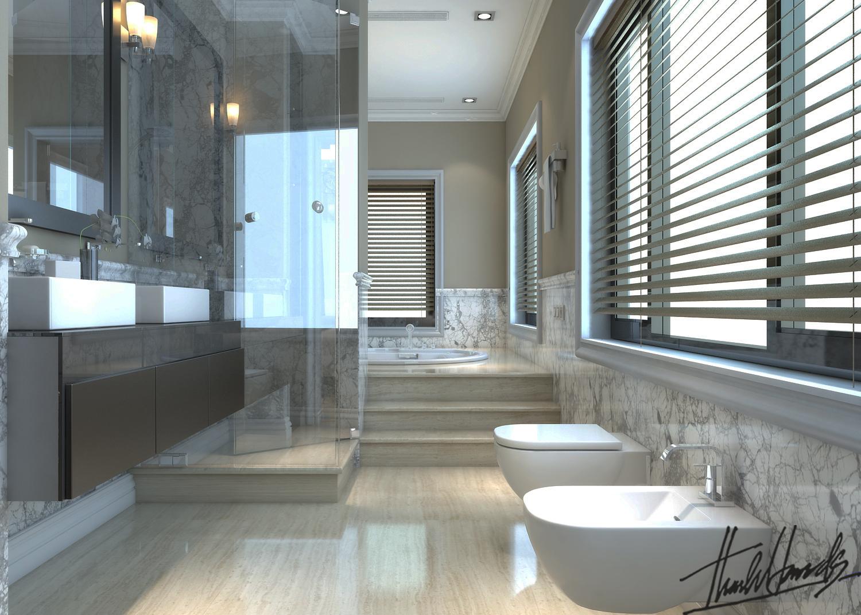 thiết kế nội thất Biệt Thự tại Hà Nội bt Vinhomes - riverside 52 1568274547