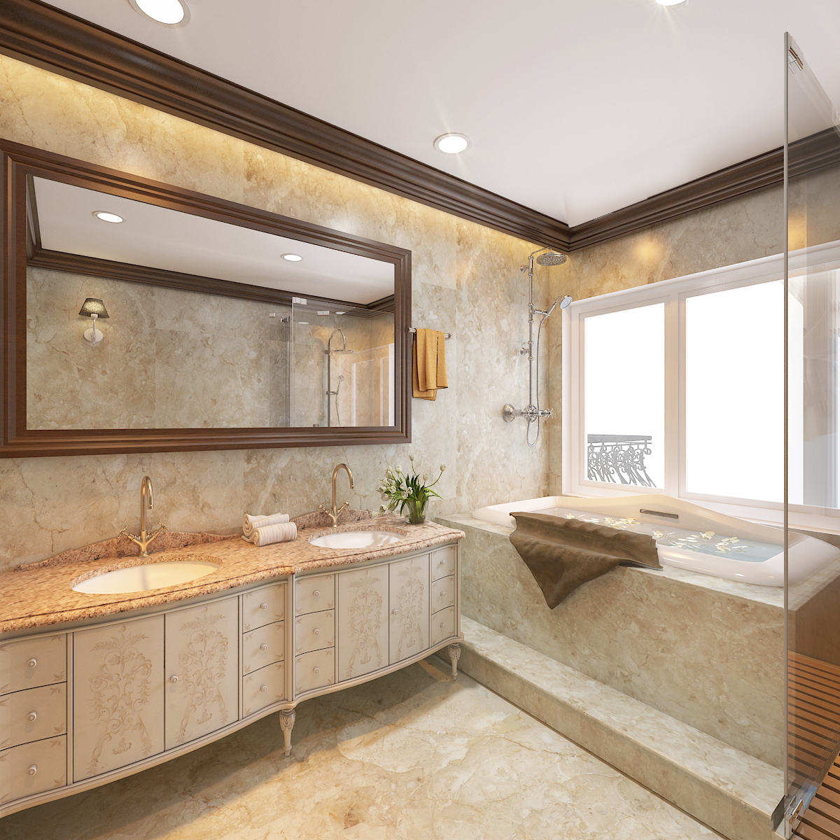 thiết kế nội thất Biệt Thự tại Hà Nội bt Vinhomes - riverside 52 1568276284